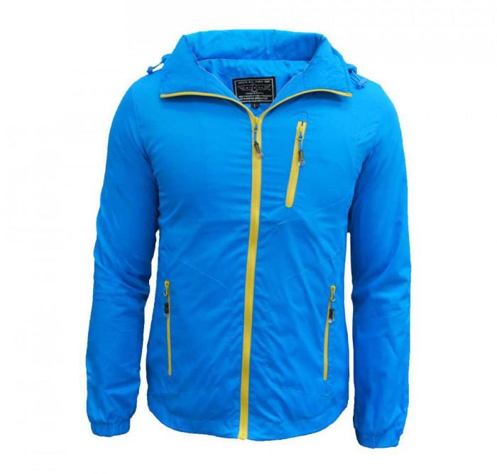 Light Weight Hooded Windbreaker Jacket (Unisex)