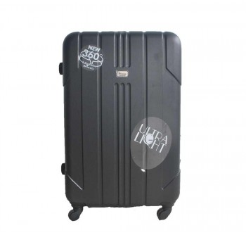 "#329 ABS Hard case Ultralight Luggage 28"" BLACK"
