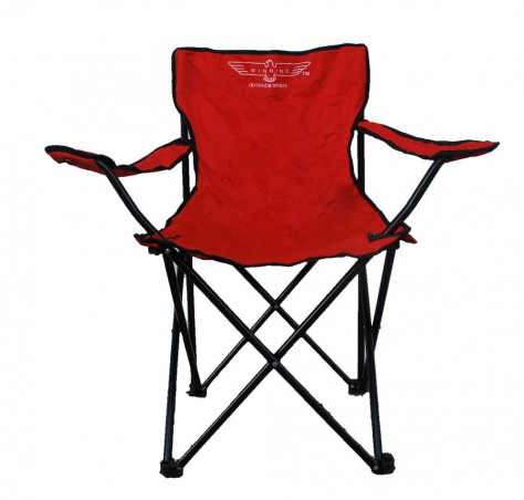 High Back Folding Camping Chair (Armrest)