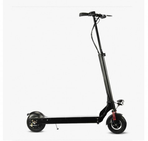Foldable Electric Scooter with High Elastic Shock Front