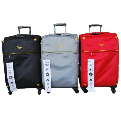 #1428 Nylon Luggage with TSA and wheels with ball bearing technology