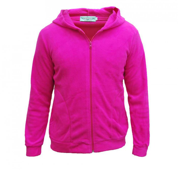 Fleece Hooded Jacket (Unisex)