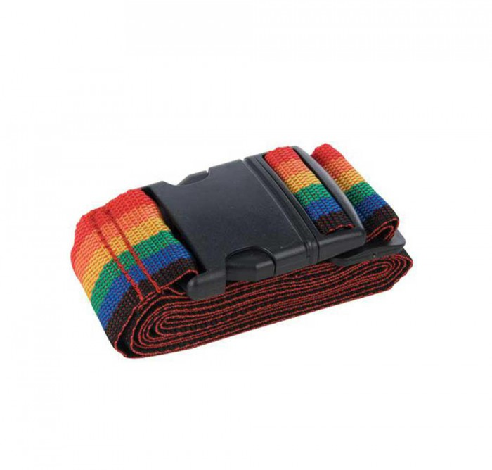 Adjustable Luggage Belt (Rainbow)