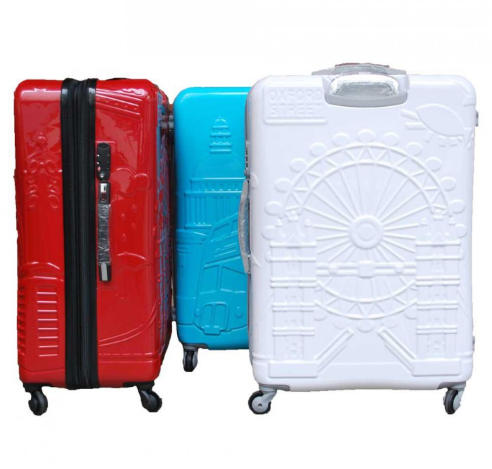 IT (Exclusive London) ABS/PC Casing with Anti Theft Zipper and TSA