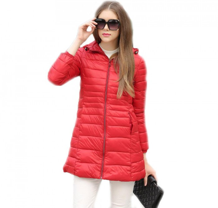 Ilesia Padded Style Coat with hood (Ladies)