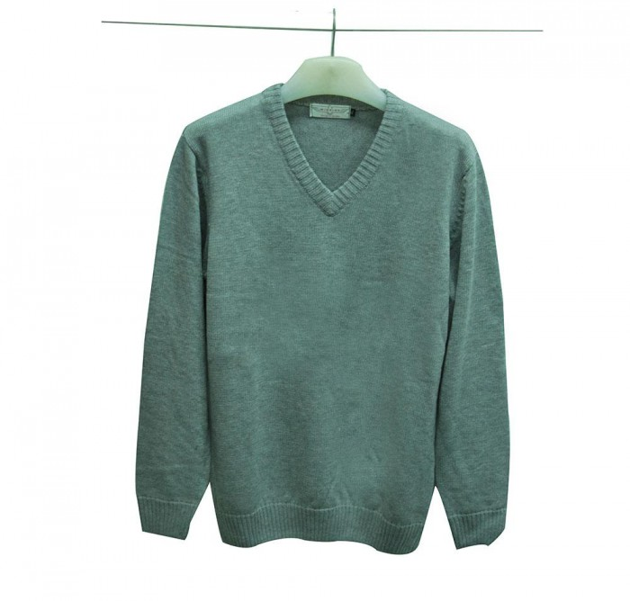Hunter V-Neck Winter Sweater (Unisex)