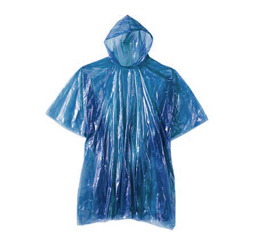 Emergency Rain Poncho Unisex