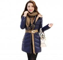 Ville Quilt Belted Jacket (Ladies)