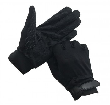 Black Tactical Full Gloves
