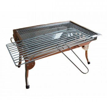 Stainless Steel Barbeque Grill (Large)