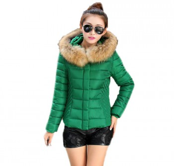Luna Faux Fur Padded Jacket (Ladies)