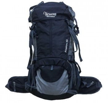 Heavy Duty Outdoor 50L Hiking Backpack (Internal Frame)