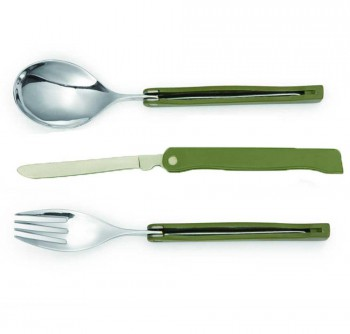 Foldable Camping Cutlery