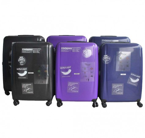 Micro-Diamond Heavy Duty ABS + Polypropylene Luggage (Scratch Resistant)
