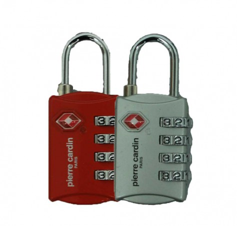Pierre Cardin TSA Luggage Lock (4-Digits)