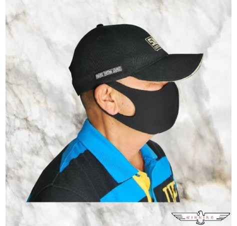 ★WINNING★ 3D BLACK MOUTH MASK